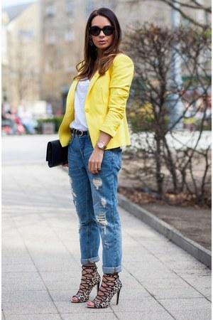 Zara Black Skirt With Lace Trim 77