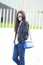 Zara shoes - Zara jeans - Zara jacket - Stradivarius shirt - Zara bag