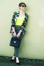 Black-purse-heather-gray-forever21-pants-black-vintage-floral-cardigan