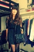 Primark dress - H&M shirt - Primark bag