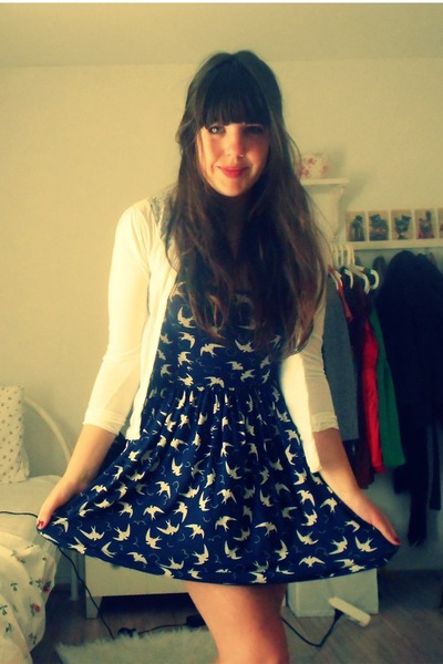 Zara dress - Primark cardigan