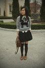 Heather-gray-poodle-h-m-sweater-brown-satchel-zara-bag-ivory-nasty-gal-blous