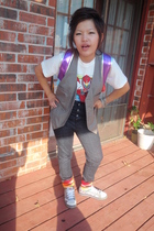 Forever21 vest - Disney Store shirt - Forever21 jeans - Hot Topic socks - Pac Su