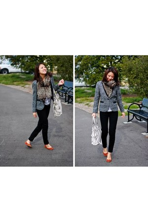 H&M jeans - Zara jacket - Michael Kors bag