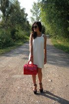 Zara dress - Furla bag