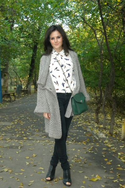 Zara cardigan - Zara shoes
