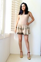 lanvin pumps - thakoon shorts - Forever 21 top