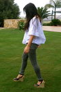 White-free-people-top-black-michael-kors-shoes-gray-topshop-jeans