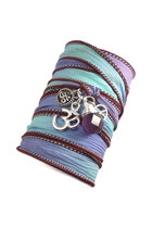 silk wrap charmeddesign1012 bracelet