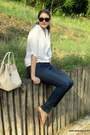 White-stradivarius-shirt-furla-bag