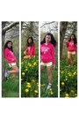 Nike-shoes-light-yellow-soulcal-shorts-hot-pink-primark-hoodie