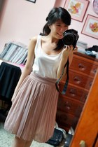 cotton MDS skirt - cotton H&M top