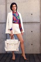 white white blazer blazer - white pashli satchel 31 Phillip Lim bag