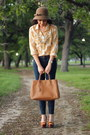 Cloak-with-bow-nordstrom-hat-saffiano-bag-prada-bag-jcrew-blouse