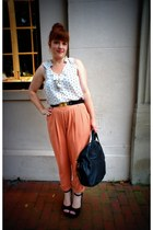 Givenchy bag - Urban Outfitters belt - Old Navy top - Steve Madden heels - asos