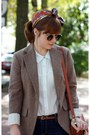 Topshop-boots-urban-outfitters-jeans-gap-blazer-vintage-scarf