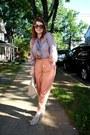 American-apparel-bag-pour-la-victoire-heels-asos-pants-topshop-blouse