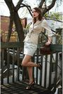 White-h-m-shirt-beige-vero-moda-vest-gray-club-monaco-skirt-black-spring-s