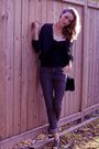 Black-spring-shoes-black-pink-tartan-jacket-gray-smart-set-jeans-black-clu