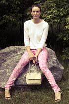 bubble gum Roxy jeans