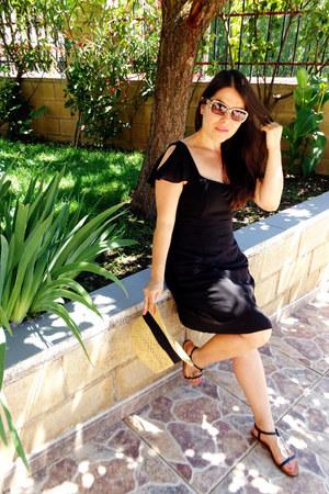 black Lusstra dress - tawny xti loafers
