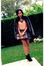 Black-zara-boots-crimson-faux-fur-pull-bear-jacket-light-brown-asos-bag