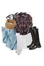 Luis-aviaroma-boots-dickies-jeans-svpply-shirt-folded-snood-topshop-scarf