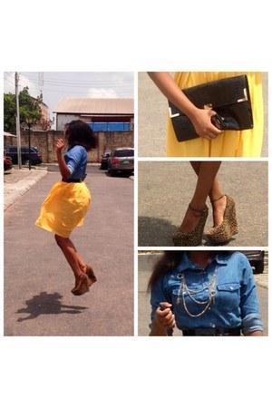 Sweet Candy shirt - belle kay skirt