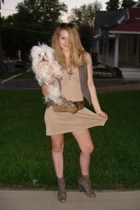 H&M dress - Richard Chai for Target vest - sam edelman shoes