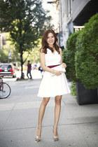 Jimmy Choo shoes - Prada dress - clutch Jimmy Choo bag