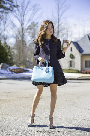 Chanel jacket - Jimmy Choo shoes - christian dior bag - Chanel skirt