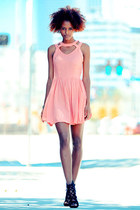 pink cutout doll cicihot dress