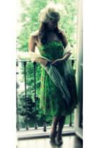 chartreuse Ralph Lauren dress