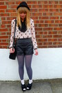 Periwinkle-asos-tights-black-vintage-jane-shilton-bag-black-leather-topshop-