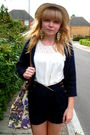 H-m-cardigan-river-island-shorts-asos-bag-topshop-blouse
