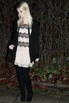 Topshop dress - Noir sweater
