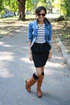 Zara shirt - Zara shirt - tawny Frye boots - Forever 21 jacket
