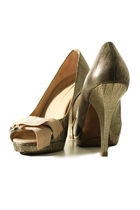 beige bcbg max azria shoes