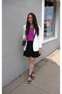 Tuxedo-forever-21-blazer-flippy-smart-set-skirt-jcpenney-blouse