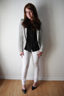 Skinny-urban-planet-jeans-stripes-forever-21-blazer-urban-planet-blouse