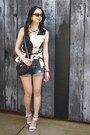 Black-leather-kate-spade-bag-navy-denim-shorts-bdg-shorts