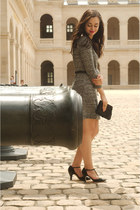 heather gray Club Monaco dress