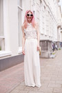 Gold-vintage-fake-chanel-bag-ivory-zara-pants-ivory-topshop-top