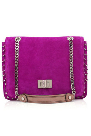 purple Emilio Pucci purse