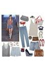 Red-shoes-blue-shorts-brown-purse-gold-bracelet-blue-chloe-top-white-a