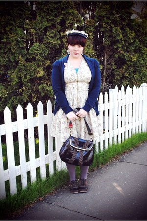 BC footwear shoes - H&amp;M dress - vintage hat - Gap cardigan