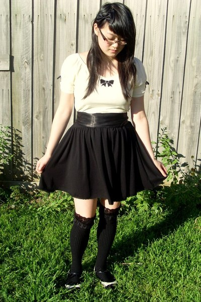 Friends of Couture sweater - Living Doll socks - Livin Doll skirt - Target Austr