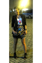 blazer - Forever 21 top - Wear by Soule Phenomenon skirt - Soule Phenomenon shoe