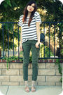 Green-james-jeans-pants-white-h-m-top-beige-pour-la-victoire-shoes-black-c
