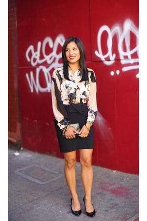 floral 31 Phillip Lim blouse - bcbg max azria skirt